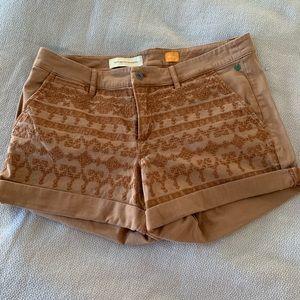 Anthropologie (Pilcro) chino shorts